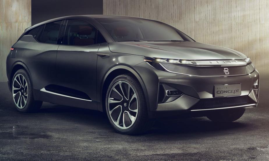 La Byton sera une voiture connectée. | 8 janvier 2018