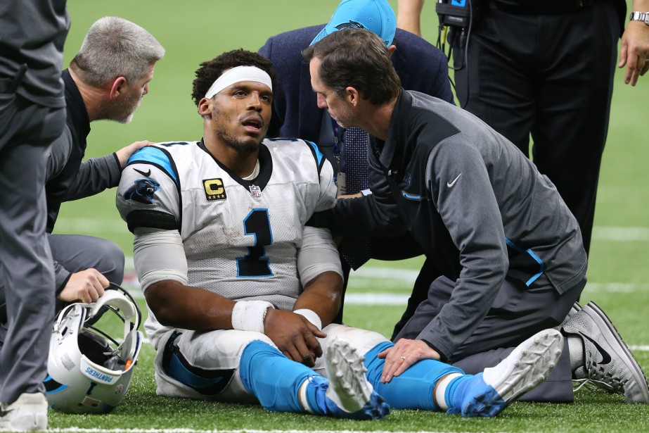 Le quart des Panthers de la Caroline Cam... (Photo Chuck Cook, USA Today Sports)