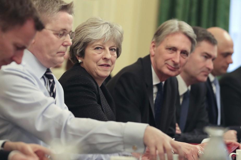 Theresa May... (AP)