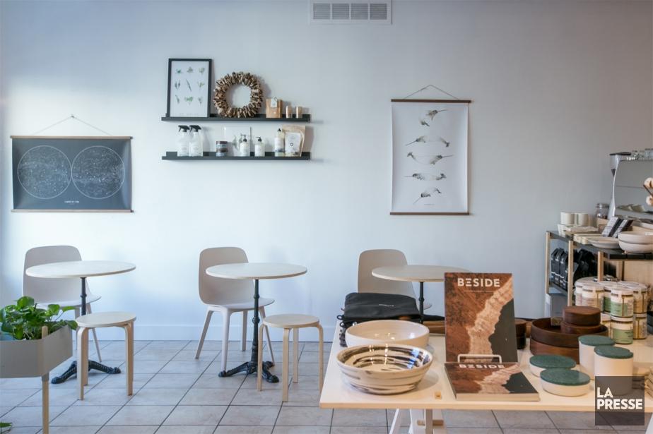 Le coin café est un peu plus petit... (Photo Martin Tremblay, La Presse)