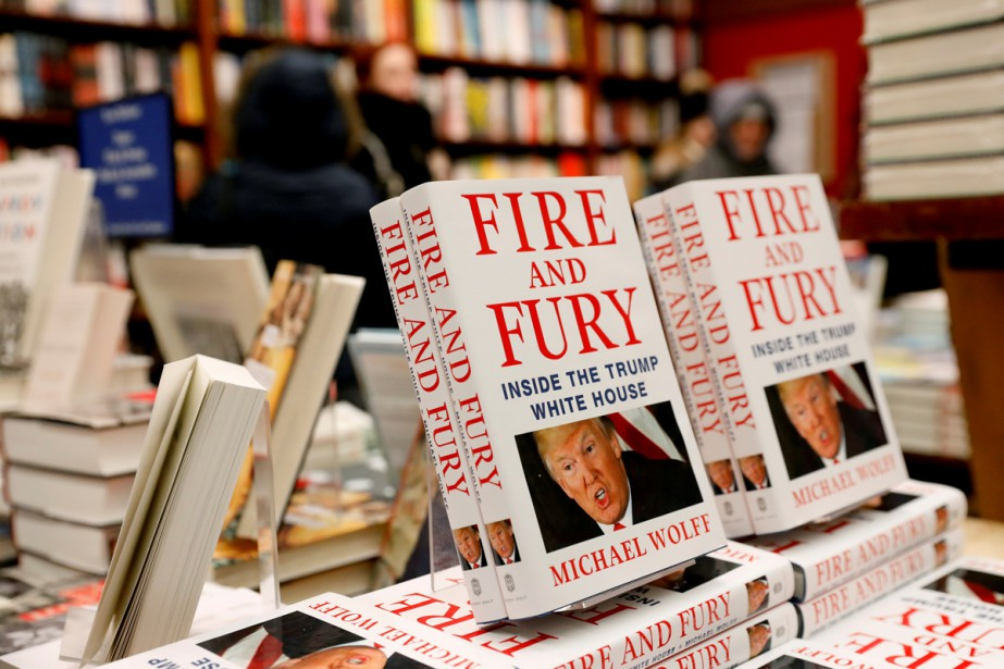 Fire and Fury: Inside the White House sera... (Photo Reuters)