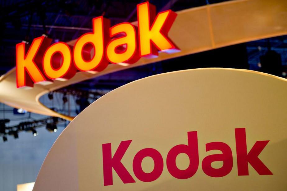 L'ancien géant américain de la photographie Kodak a annoncé... (PHOTO BLOOMBERG)