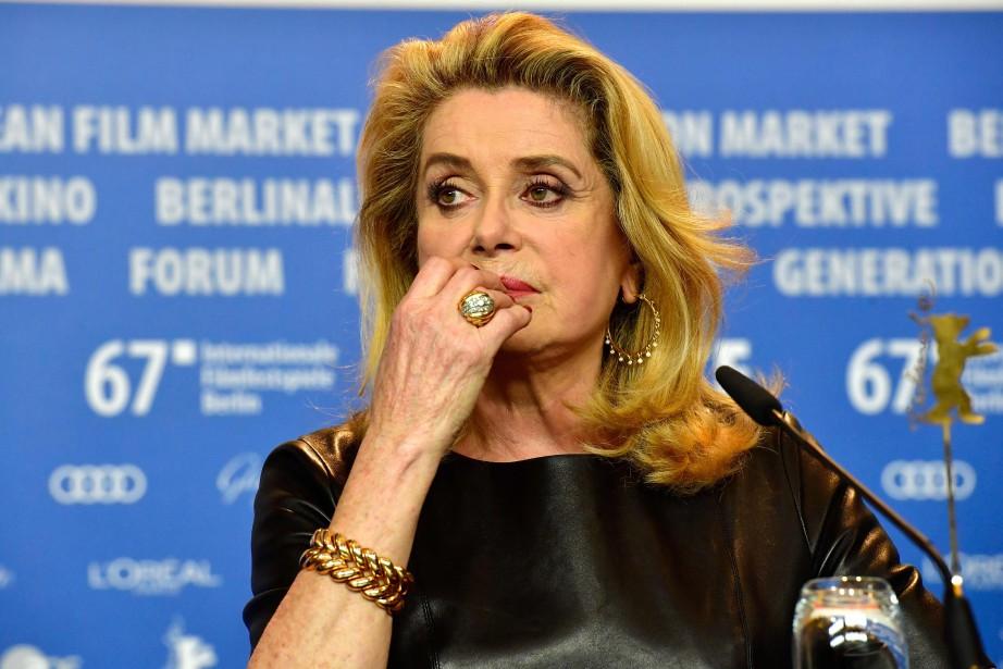 Catherine Deneuve... (PHOTO AFP)