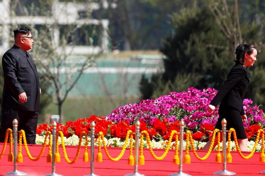 Kim Yo-jong serait très proche de son grand... (PhotoDamir Sagolj, Archives Reuters)