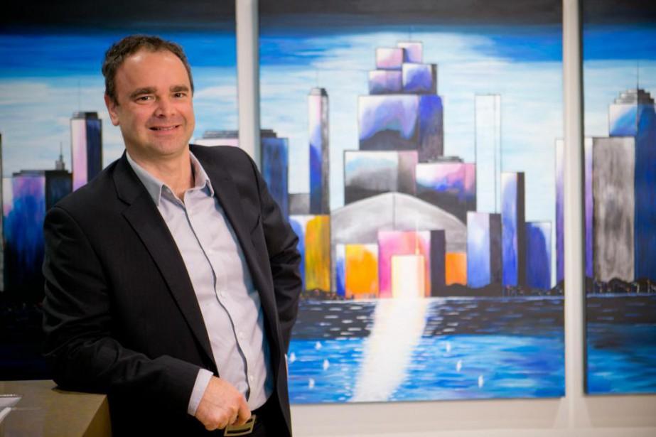 André Lacasse, planificateur financier chez Services financiers Lacasse... (Photo David Boily, La Presse)