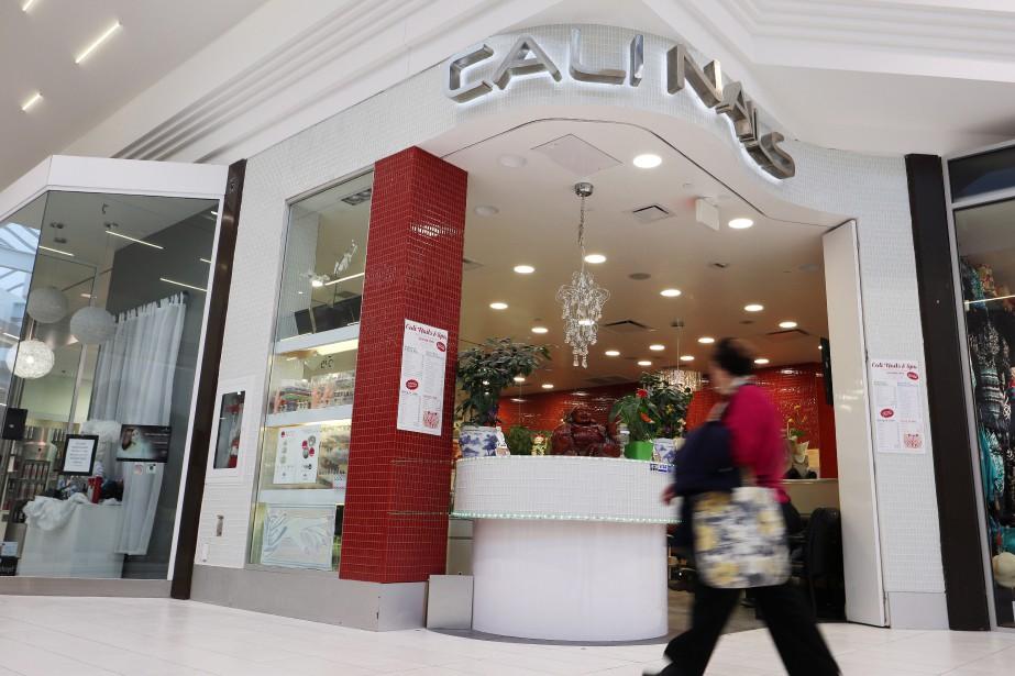 Le salon Cali Nails, situé dans le centre... (PHOTO PC)