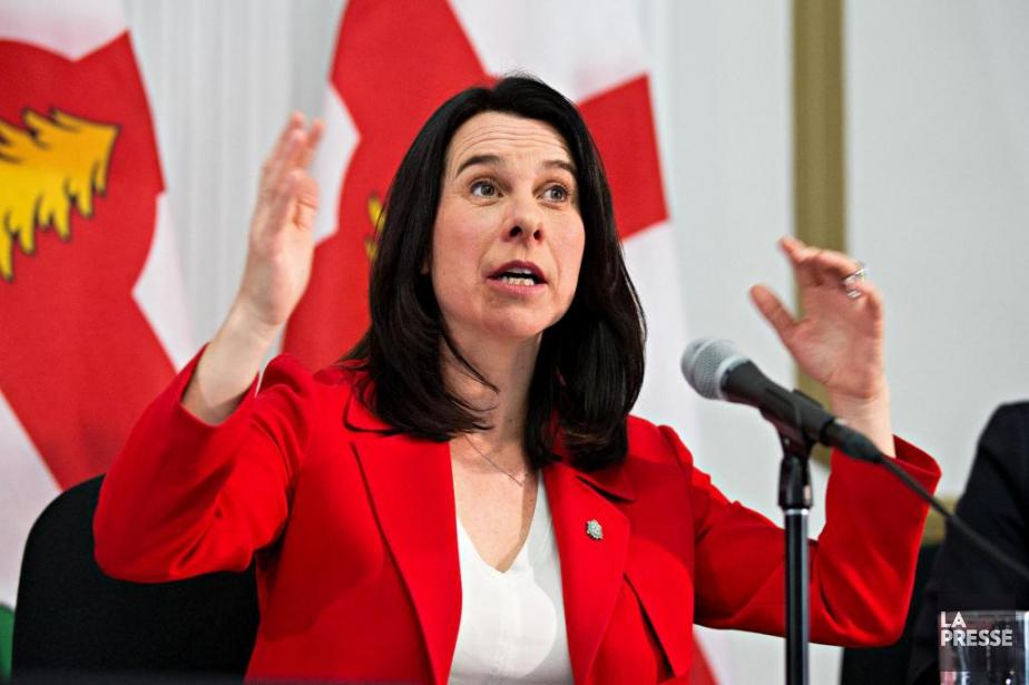 La mairesse de Montréal Valérie Plante n'a pas... (PHOTO PATRICK SANFAÇON, LA PRESSE)