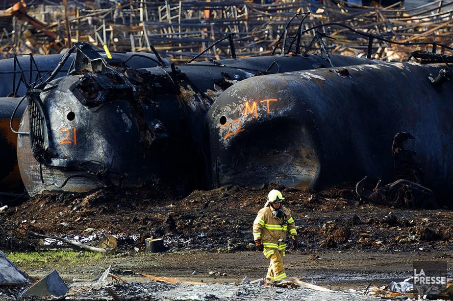 La tragédie ferroviaire de Lac-Mégantic a fait 47... (Olivier Jean, archives La Presse)