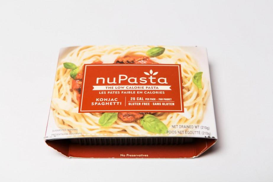 Ces spaghettis sont à base de konjac, une... (Photo Olivier PontBriand, La Presse)
