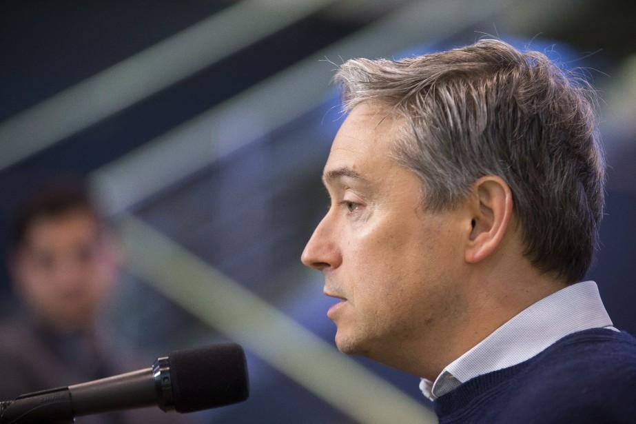 Le ministre fédéral du Commerce international, François-Philippe Champagne.... (Photo La Presse Canadienne)