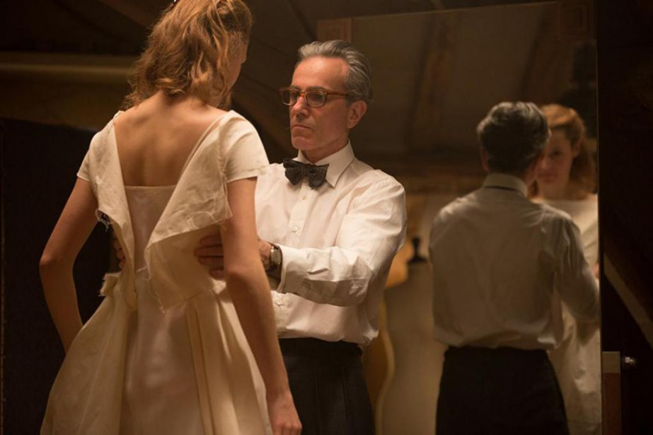 Daniel Day-Lewis et Vicky Krieps dans Phantom Thread.... (Photo fournie par Focus Features)