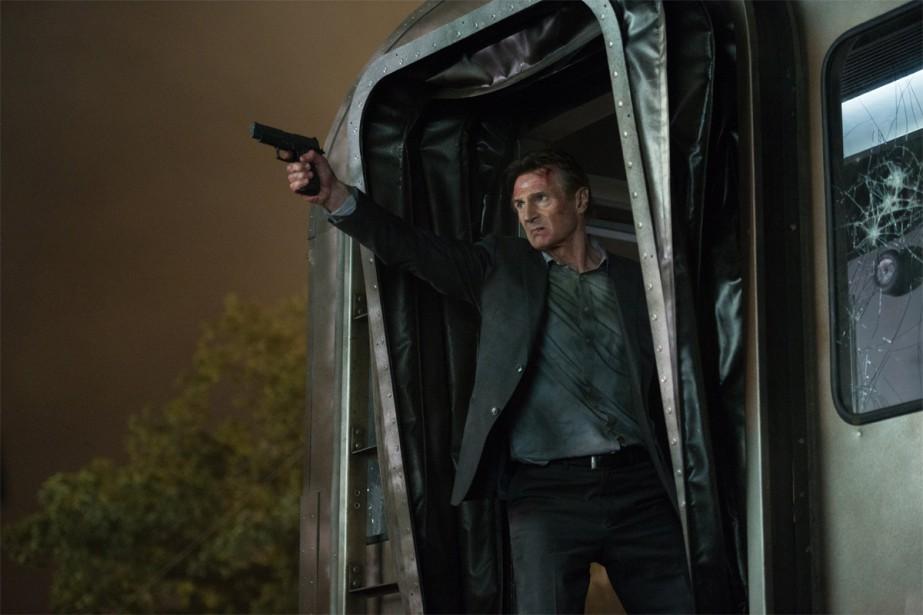 Liam Neeson dans le film d'actionThe Commuter... (Photo fournie par VVS Films)