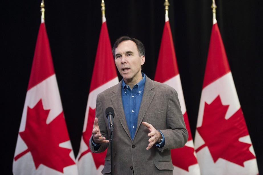 Le ministre fédéral des Finances Bill Morneau... (PHOTO Nathan Denette, LA PRESSE CANADIENNE)