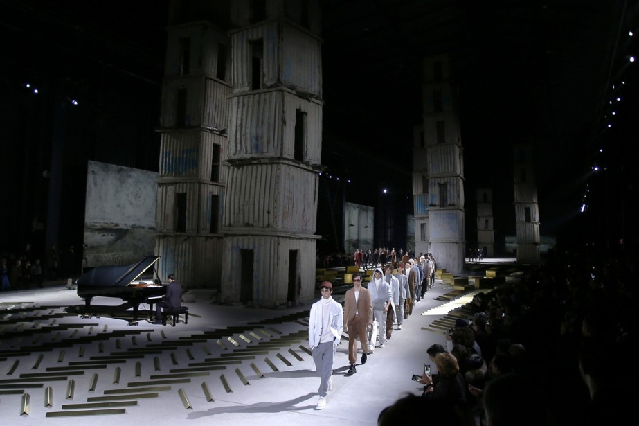 Le coup d'envoi de la Fashion Week homme... (Photo AP)