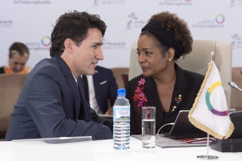 Propos de Trump: Michaëlle Jean outrée, Trudeau ne commente pas | National