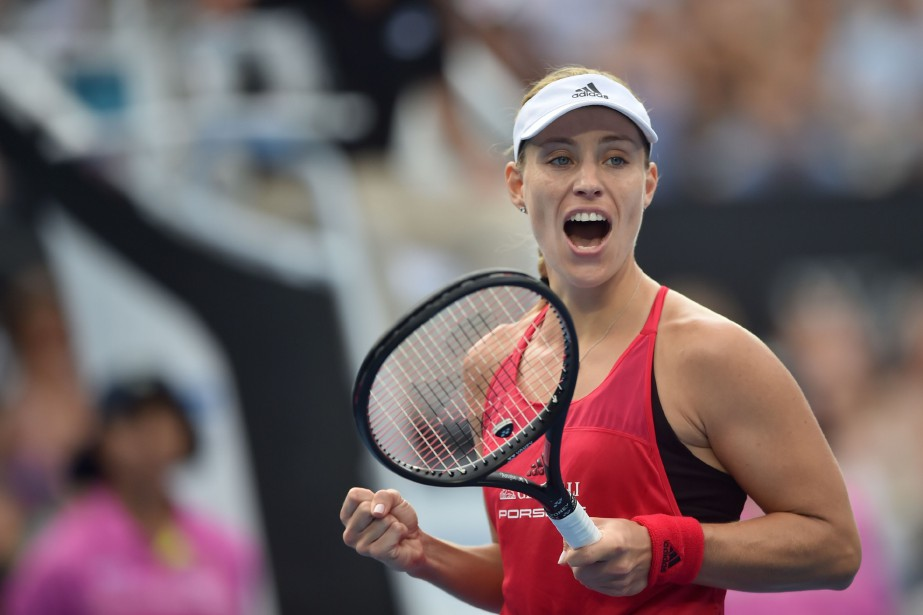 Angelique Kerber a battu Ashleigh Barty en deux... (Photo Peter Parks, AFP)