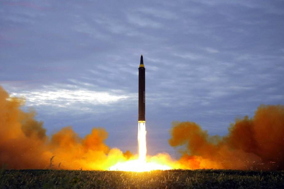 La fausse alerte a été envoyée dans un... (PHOTO ARCHIVES AGENCE KCNA)