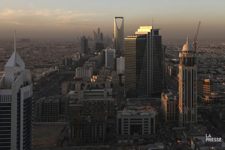 Vue aérienne du centre-ville de Riyad. La capitale... (Photo Simon Dawson, La Presse)