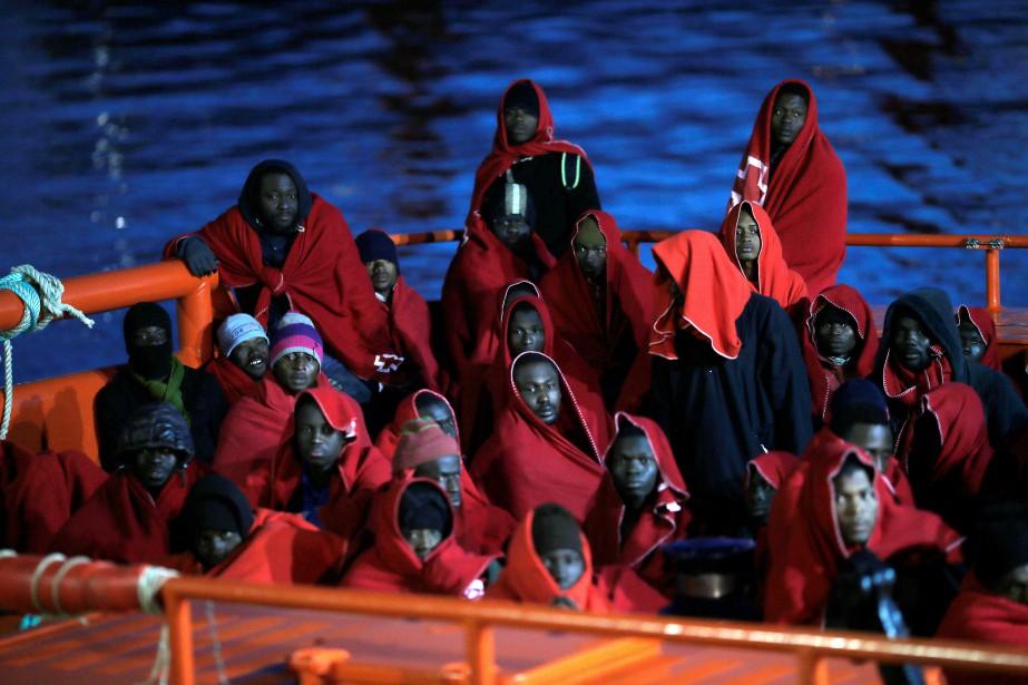 L'Espagne est restée en 2017 la troisième porte... (PHOTO Jon Nazca, REUTERS)