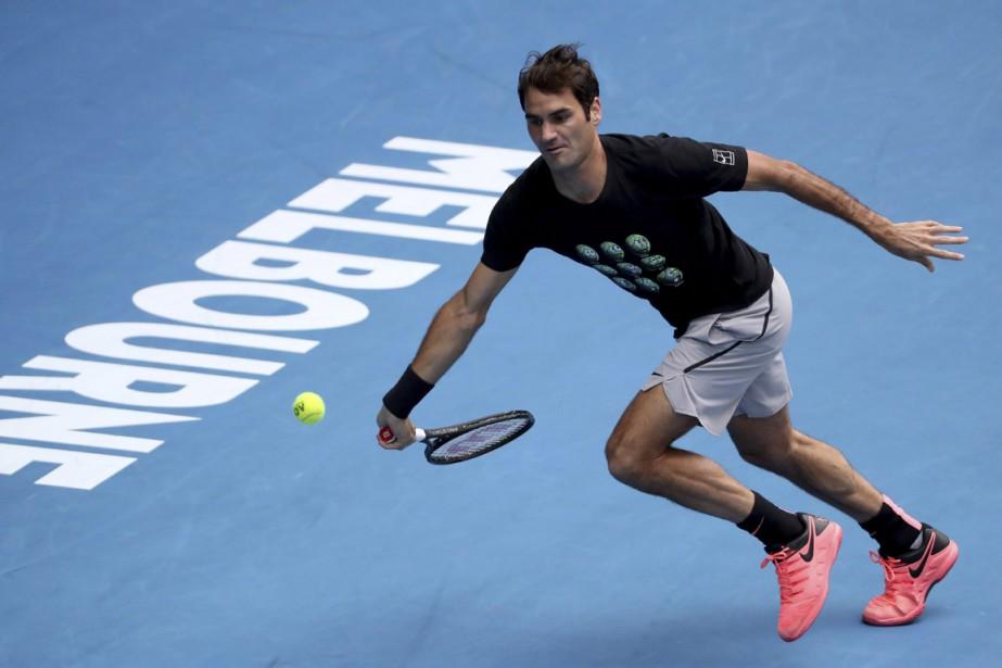 Roger Federer prendra partauxInternationaux d'Australie pour la 19efois... (PHOTO NG HAN GUAN, ASSOCIATED PRESS)