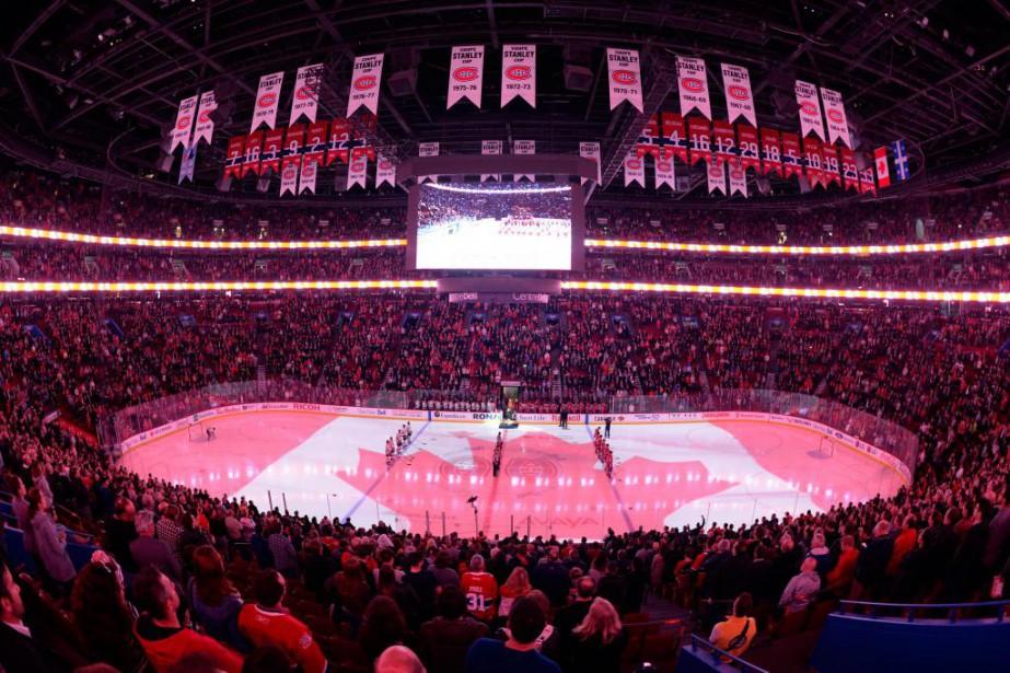 Durant la saison, le Canadien de Montréal pratique... (Photo Bernard Brault, Archives La Presse)