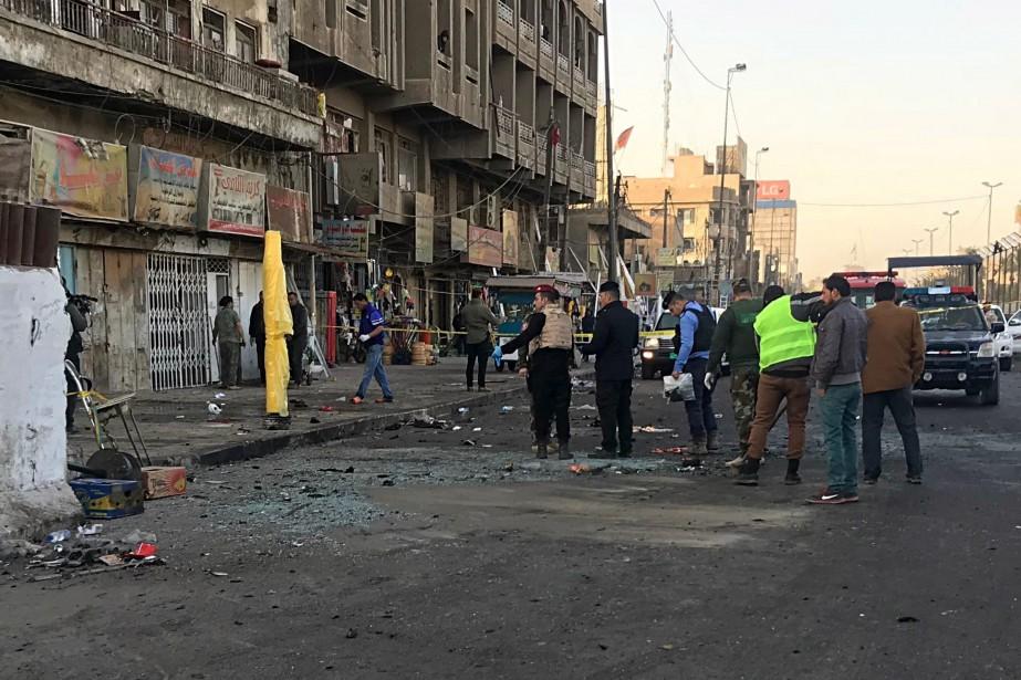 Après une période de calme relatif, la capitale... (Photo Ali Abdul Hassan, Associated Press)
