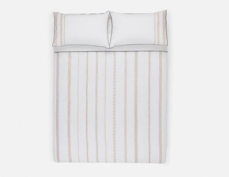 Housse de couette et deux taies pour grand lit Merida, 99$,chez Structube | 15 janvier 2018