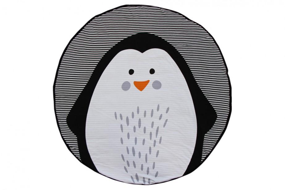 Tapis de jeu Penguin, 150$, chez Vestibule | 15 janvier 2018