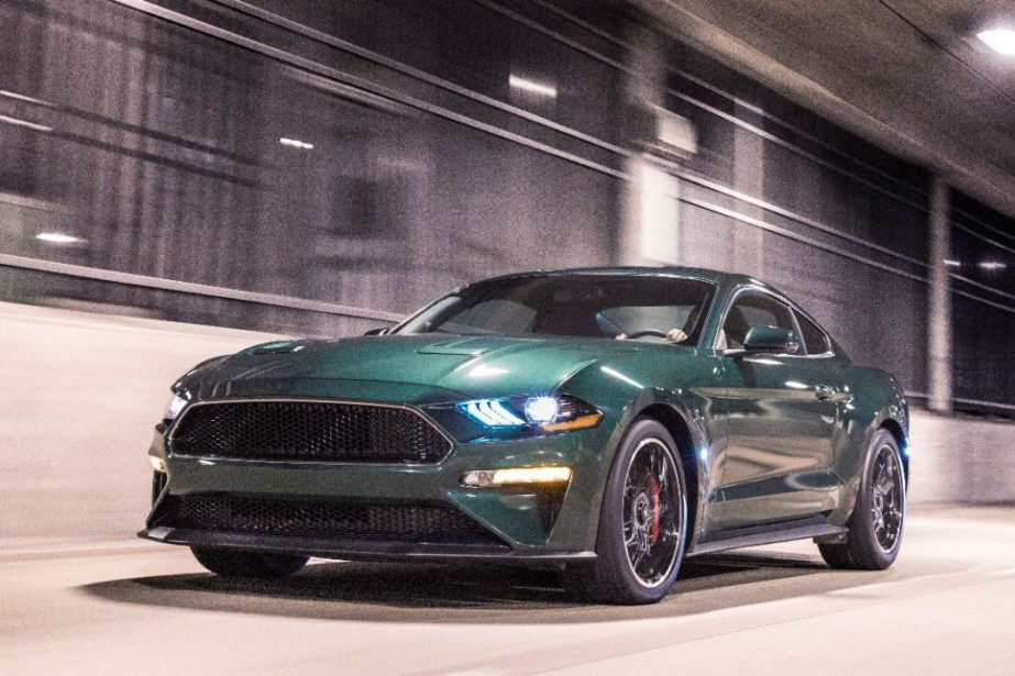 La Mustang Bullitt a le même V8 5 litres que la la Mustang GT, mais les ingénieurs de Ford l'ont dopé pour porter sa puissance à 475 ch. (15 de plus que la GT). (Photo Ford)