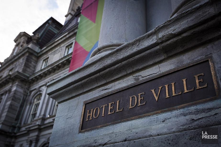 L'hôtel de ville de Montréal.... (OLIVIER JEAN, ARCHIVES LA PRESSE)