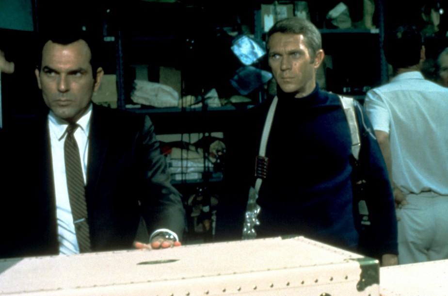 Steve McQueen dans une scène du film <em>Bullitt.</em> (Saisie d'écran YOUTUBE)
