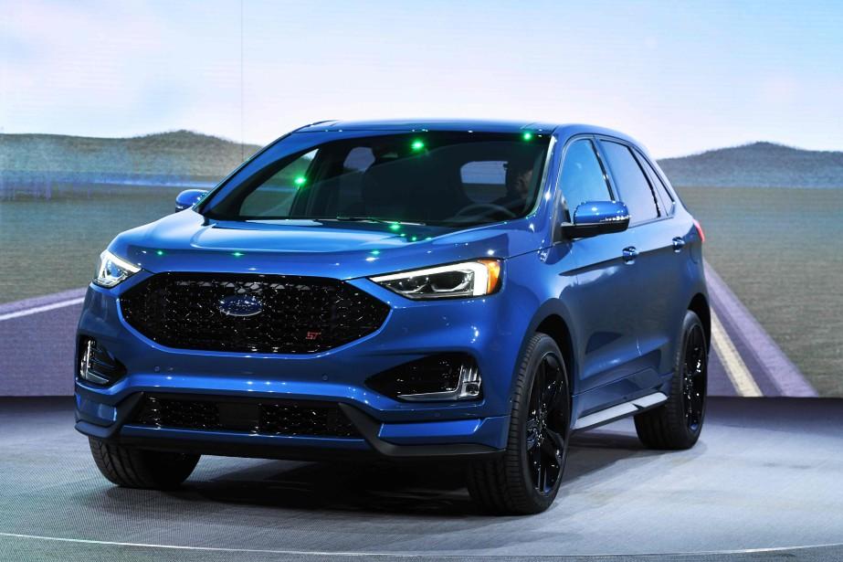 Le Ford Edge ST. | 15 janvier 2018