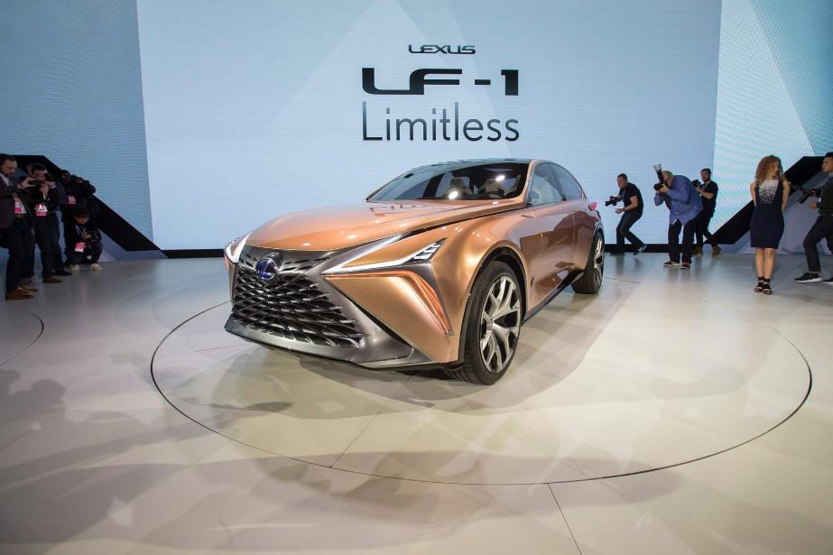 Le prototype Lexus LF-1 . | 15 janvier 2018