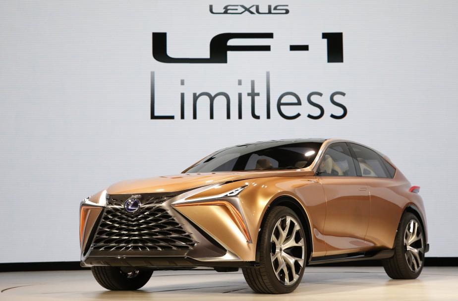 Le Lexus LF-1 Limitless, un prototype.    | 15 janvier 2018