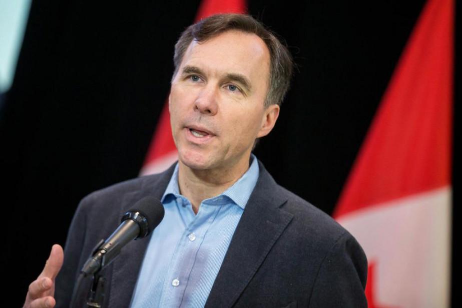 Le ministre des Finances, Bill Morneau... (PhotoGeoff Robins, Archives La presse canadienne)