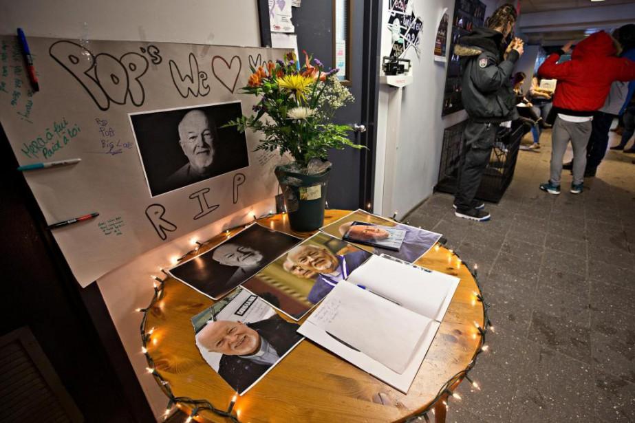 La nouvelle du décès du père Emmett Johns... (PHOTO PATRICK SANFAÇON, LA PRESSE)