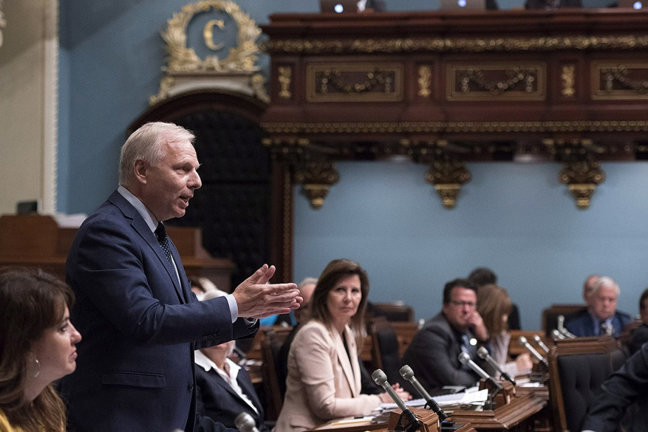 Le chef du PQ, Jean-François Lisée, en septembre... (Jacques Boissinot, archives PC)