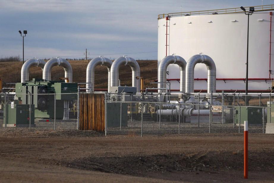 Les prix du pétrole new-yorkais et... (Photo Jeff McIntosh, archives PC)