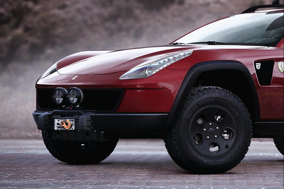 Ceci n'est pas le futur VUS Ferrari. C'est... (Photo : Rain Frisk Design)