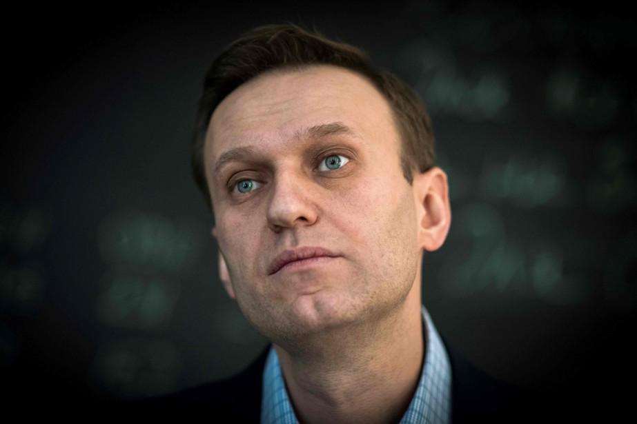 Alexeï Navalny... (Photo Mladen ANTONOV, Agence France-Presse)
