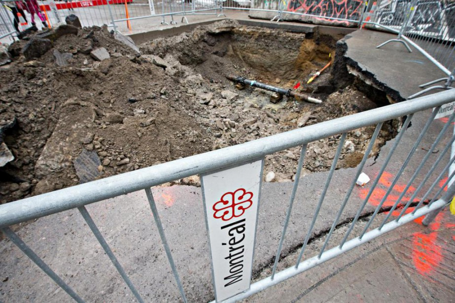 Les conduites de distribution d'eau de Montréal ont... (Photo Patrick Sanfaçon, Archives La Presse)