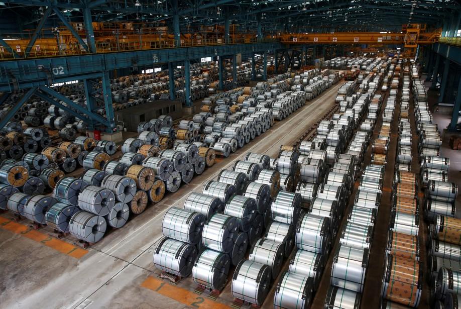 Les importations aux États-Unis de flasques en acier... (PHOTO REUTERS)