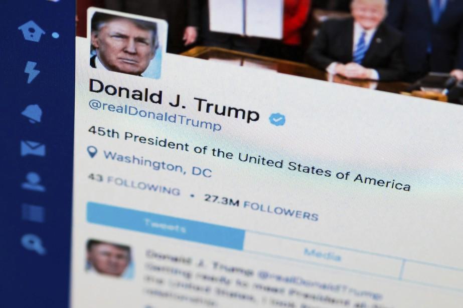 Le président américain a utilisé Twitter pour dévoiler... (Photo archives AP)