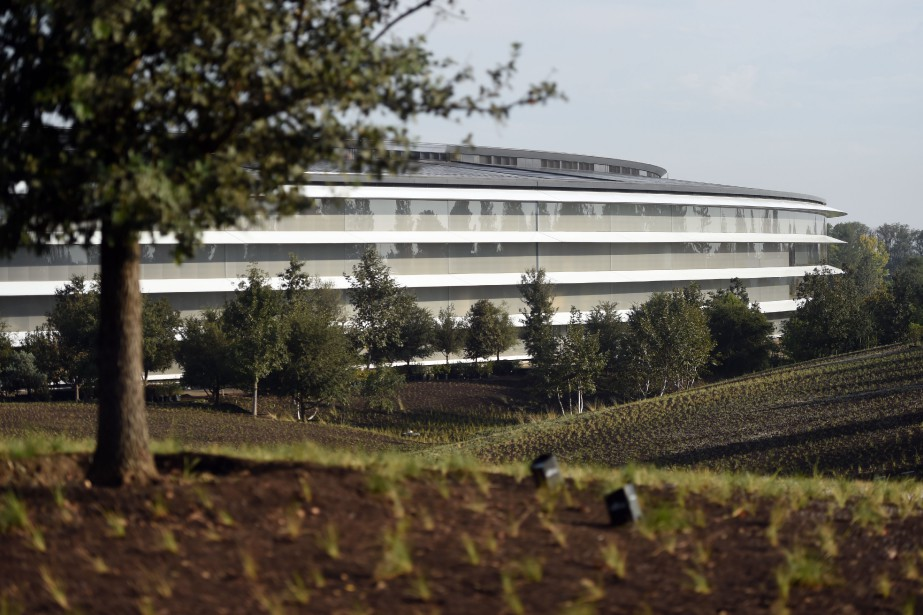 Le nouveau «campus» d'Apple, situé à Cupertino, en... (Photo archives AFP)