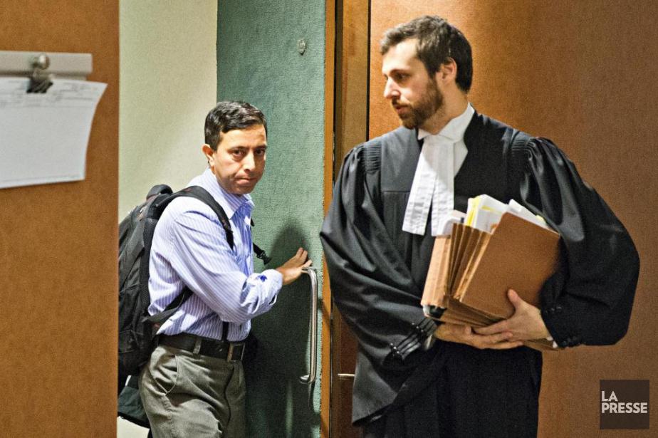 L'accusé Hasnat MiftahulSyed et son avocat... (Photo Patrick Sanfaçon, archives La Presse)
