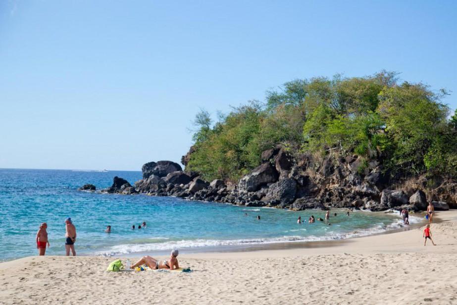 La plage de Petite Anse dans l'île de... (Photo David Boily, La Presse)