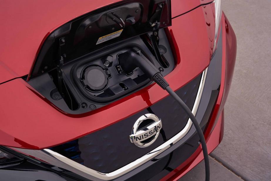 Nissan Leaf - banc d'essai ric Lefranois 15 janvier 2018 - crdit: Nissan ()