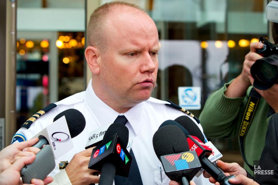 Le policier Ian Lafrenière est un des visages... (Photo Alain Roberge, archives La Presse)
