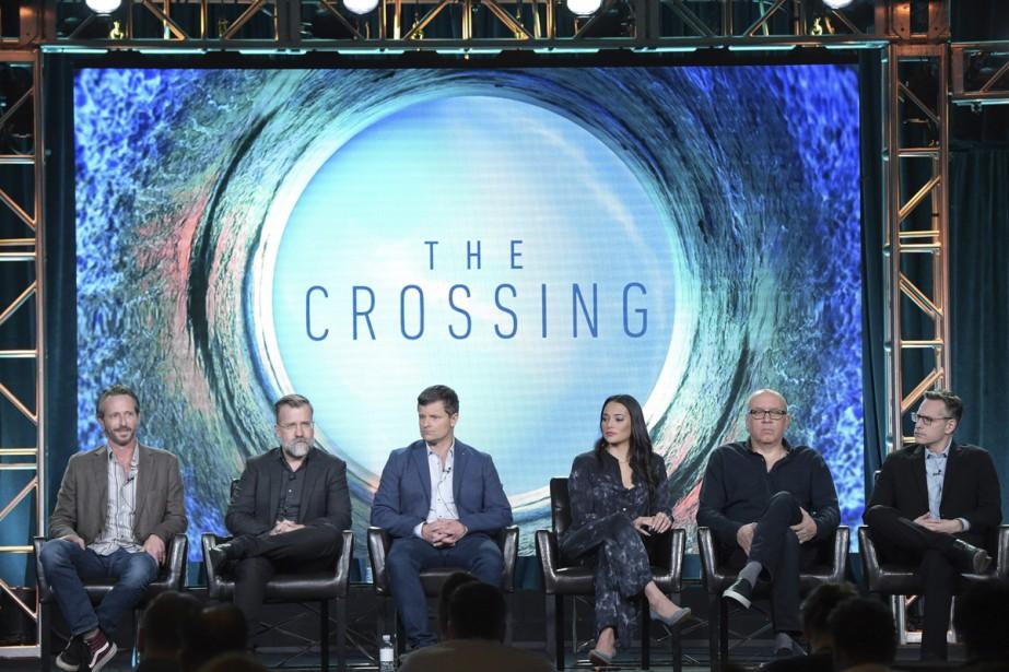 De gauche à droite: les scénaristes Dan Dworkin... (Photo AP)