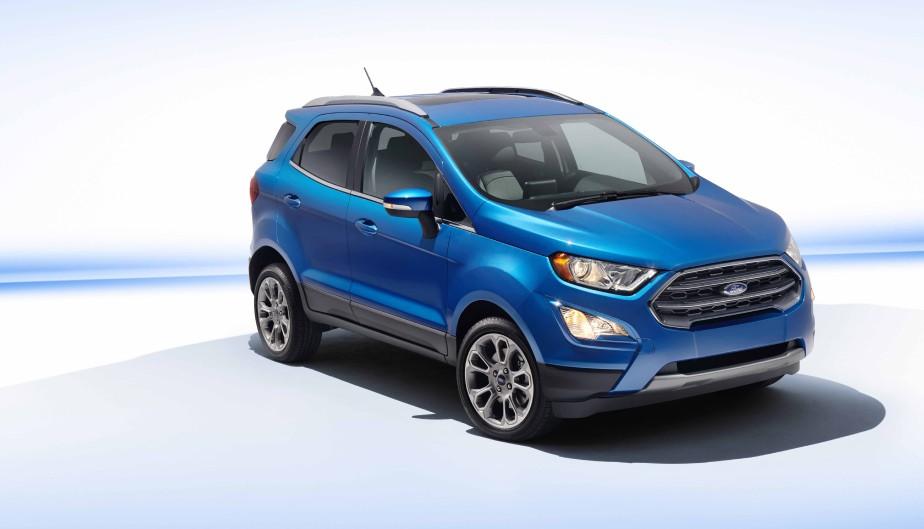 Ford EcoSport | 18 janvier 2018